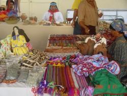 Rárámuri Market Scene