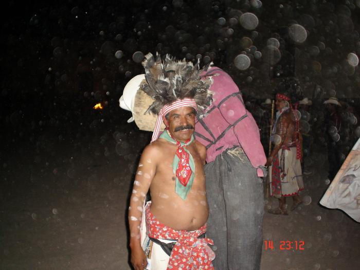 Rárámuri festival - night time
