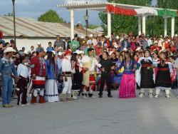 Rárámuri Dancing at a Festival